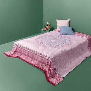 Renforcé-Überwurf - mehrfarbig - 100% Baumwolle -