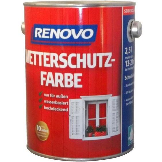 Renovo Wetterschutzfarbe schwedenrot 2,5 l
