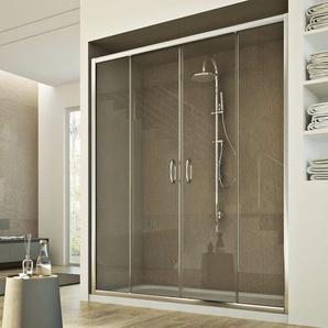 Replay 2 Türen Duschtür 150CM H185 Klarglas - IDRALITE