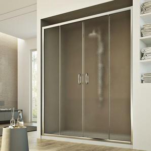 Replay 2 Türen Duschtür 180CM H185 Strukturglas - IDRALITE