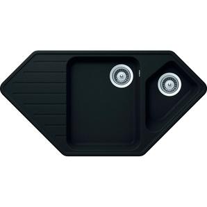 RESPEKTA Einbauspüle MEMPHIS98X50G Einheitsgröße schwarz Küchenspülen Küche Ordnung