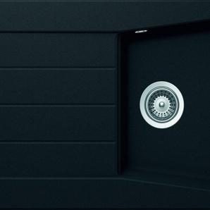 RESPEKTA Einbauspüle SEATTLE86X50B Einheitsgröße schwarz Küchenspülen Küche Ordnung