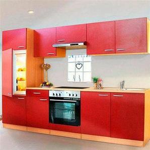 RESPEKTA Küchenzeile »Basic«, mit Glaskeramik-Kochfeld, Breite 270 cm