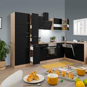 RESPEKTA Küchenzeile »Hamburg«, mit E-Geräten, Breite 170 x 310 cm