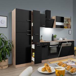 RESPEKTA Küchenzeile »Hamburg«, mit E-Geräten, Breite 310 cm