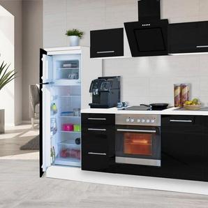 RESPEKTA Küchenzeile »RP270«, mit E-Geräten, Breite 270 cm