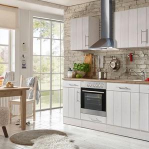 respekta Küchenzeile »Landhaus«, wahlweise mit Kühlschrank oder Geschirrspüler