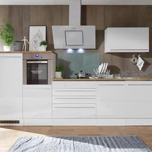 respekta-Premium-Küchenblock - weiß - Holz -