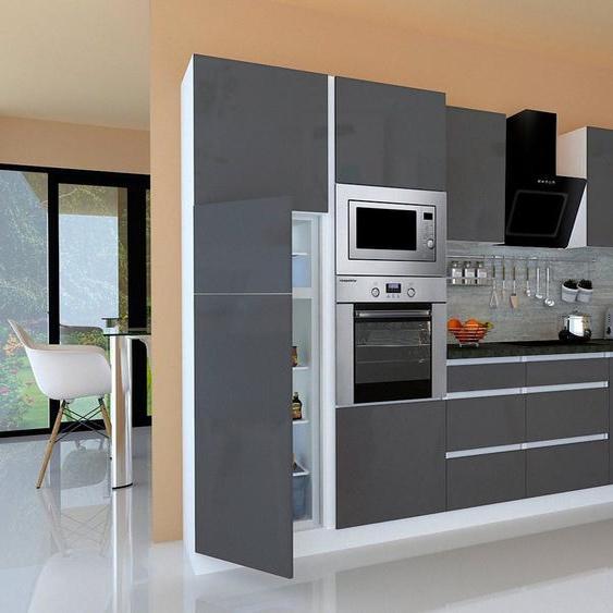 RESPEKTA Winkelküche »Usedom«, mit E-Geräten, mit Soft-Close Funktion, Breite 345 x 172 cm, Energieeffizienz: B
