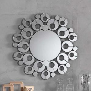 Retro Wandspiegel im rund 90 cm Durchmesser