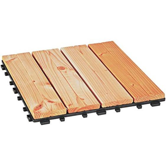 Rettenmeier Outdoor Wood Klickfliese Douglasie 30 x 30 cm 4 Stück