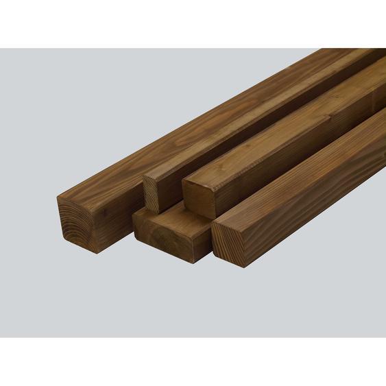 Rettenmeier Outdoor Wood Konstruktionsholz NH glatt teak 200 x 4,5 x 7 cm