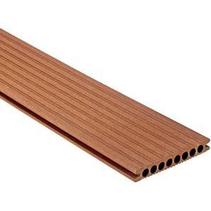 Terrassendiele Artwood Classic WPC marone 200 x 14,5 x 2,1 cm