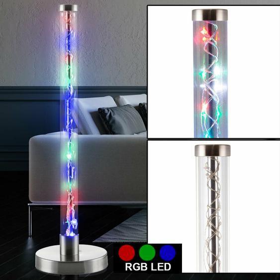 Rgbw Led Tisch Lampe Röhren Design Gäste Zimmer Beleuchtung Nacht