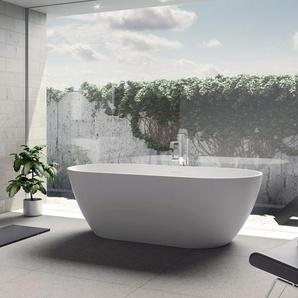 Riho Oval-Badewanne Solid Surface 170 cm
