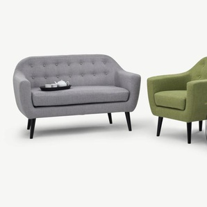 Ritchie 2-Sitzer Sofa, Perlgrau