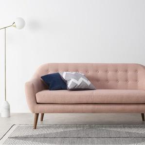 Ritchie 3-Sitzer Sofa, Orleansrosa