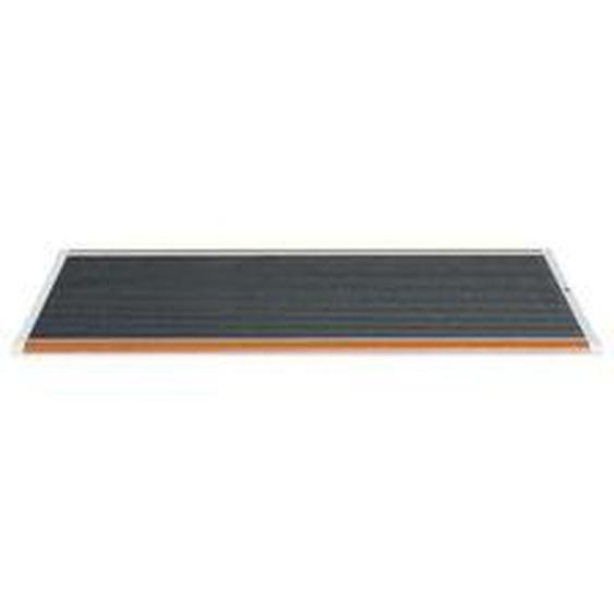 RiZZ - Fußmatte Outdoor 120 × 70 cm, Teak / weiß