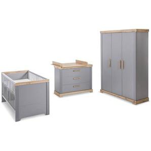 roba Baumann Babyzimmer-Set, Taupe, Holz