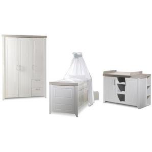 roba Baumann Babyzimmer-Set, Weiß