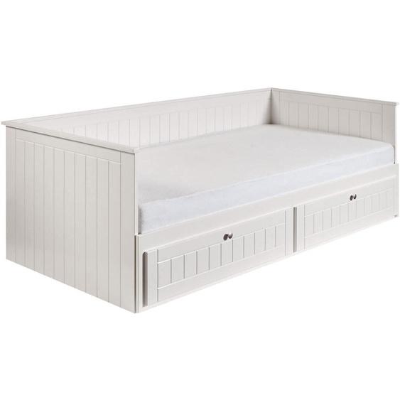 roba Daybett Florenz 90x200 cm weiß Tagesbetten Gästebetten Betten Daybetten