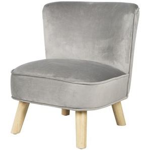 Roba Kindersessel roba Lil Sofa , Grau, Silber , Textil , 44x50x48 cm , Kindersitzgruppen