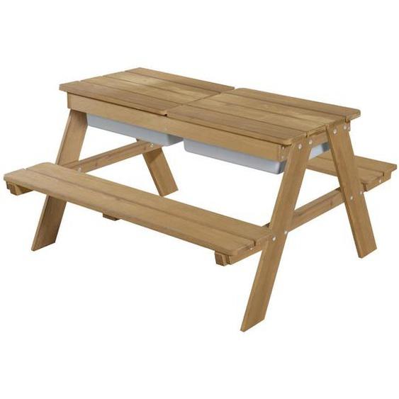 Roba Kindersitzgruppe , Braun , Holz , 89x50x85.5 cm