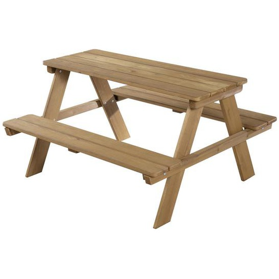 Roba Kindersitzgruppe , Braun , Holz , massiv , 89x50x84.5 cm