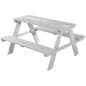 Roba Kindersitzgruppe roba Outdoor+ , Grau , Holz , massiv , 89x50x84 cm , Kindersitzgruppen