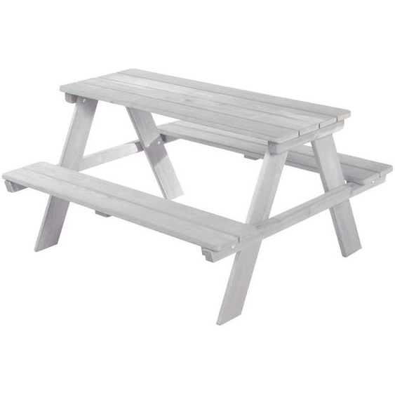 Roba Kindersitzgruppe , Grau , Holz , massiv , 89x50x84 cm