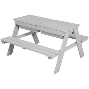 Roba Kindersitzgruppe roba Outdoor+ , Grau , Holz , 89x50x85.5 cm , Kindersitzgruppen