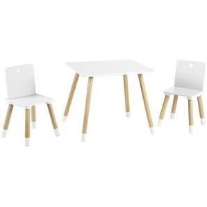 Roba Kindersitzgruppe roba , Natur, Weiß , Holz , Kindersitzgruppen