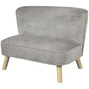 Roba Kindersofa roba Lil Sofa , Grau, Silber , Textil , 70x50x48 cm , Kindersitzgruppen