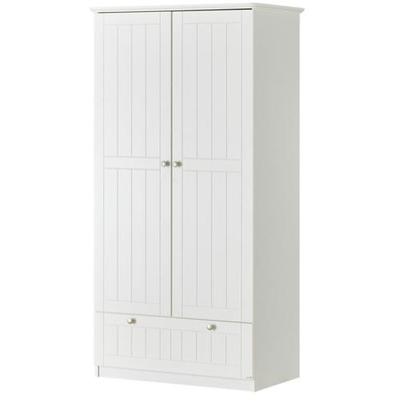 Roba Kleiderschrank - weiß - 96 cm - 187 cm - 55 cm | Möbel Kraft