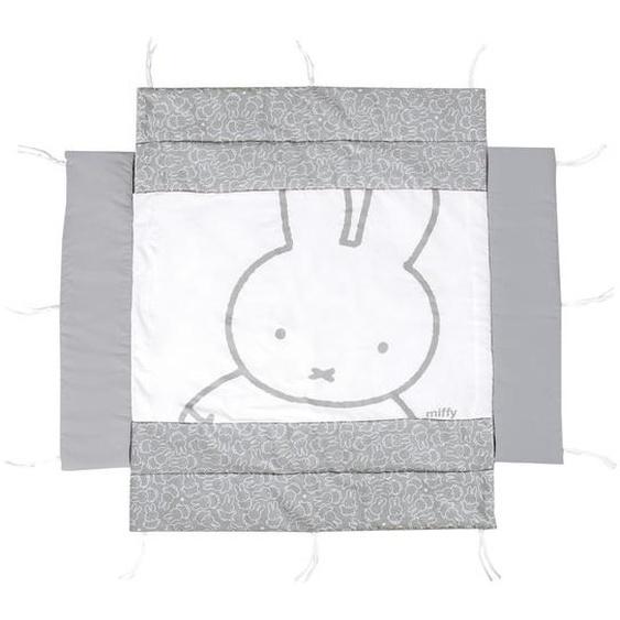 Roba Laufgittereinlage roba Miffy 96/18/96 cm , Weiß , Textil , Hase , 96x18x96 cm
