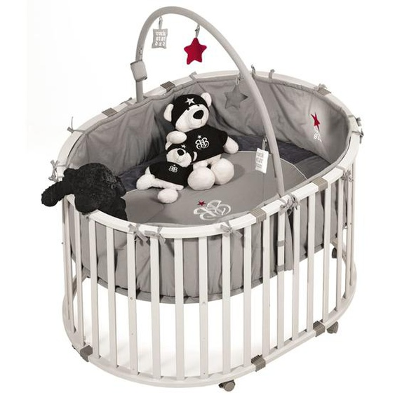 roba Laufstall-Set Oval Rock Star Baby 1