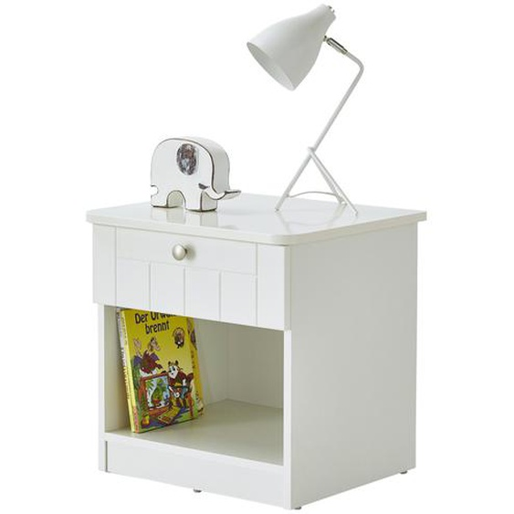 Roba Nachtkommode - weiß - 51 cm - 51 cm - 45 cm | Möbel Kraft