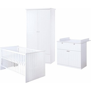 Roba Babyzimmer Set (3-tlg) Kinderzimmer »Dreamworld 3« 2-türig