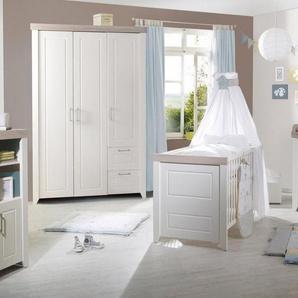 roba® Babyzimmer-Komplettset »Felicia«, (Set, 3-St), mit Kinderbett, Schrank und Wickelkommode