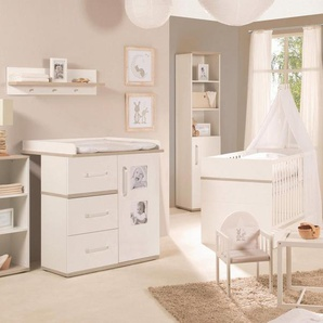 Roba Babyzimmer Set (3-tlg) Kinderzimmer »Moritz« schmal
