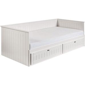 Roba® Daybett »Florenz«, B/T/H 98-188/208/72 cm, weiß