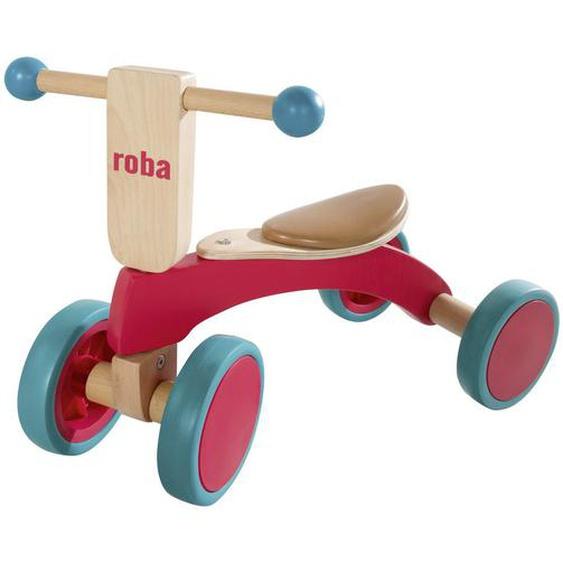 Roba Rutschfahrzeug Holzrutscher , Blau , Holz, Kunststoff , Schichtholz , 28x37x52 cm