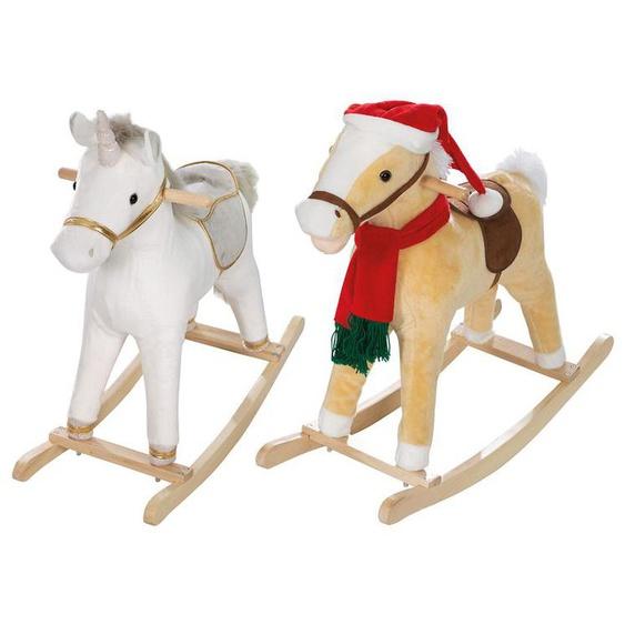 roba Schaukelpferd, Einhorn, Weihnachtsoptik