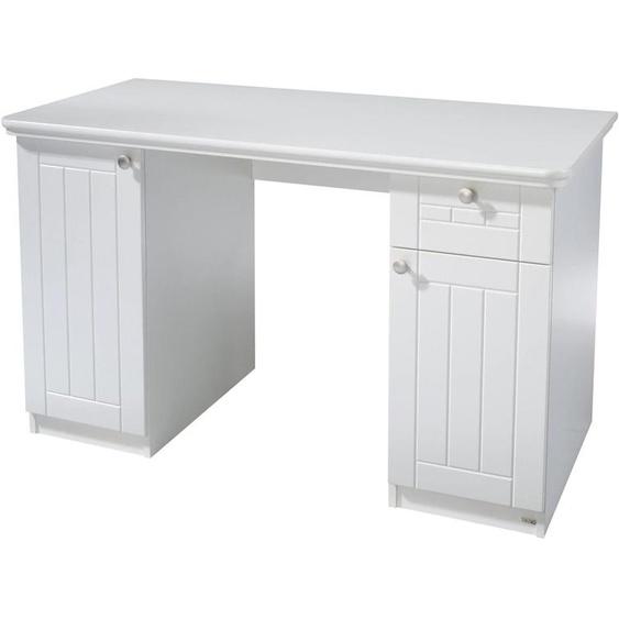 roba Schreibtisch Florenz, Breite 125 cm Einheitsgröße weiß Kinder Jugendschreibtische Jugendmöbel Kindermöbel Tisch