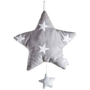 Roba Spieluhr  Little Stars ¦ grau ¦ 65% Polyester, 35% Baumwolle, Füllung: Polyestervlies Baby  Spielen  Lernspielzeug » Höffner