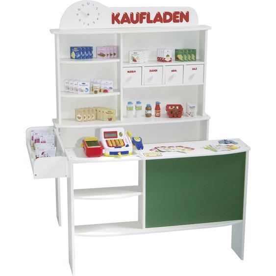 Roba Verklaufsstand , Weiß , Kunststoff, Karton , Schichtholz , 100x120x78 cm