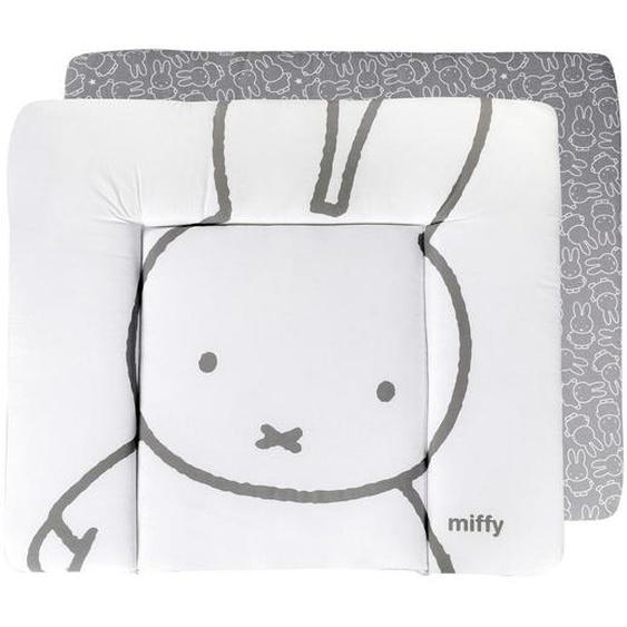 Roba Wickelauflage roba Miffy , Weiß , Textil , 85x4x75 cm