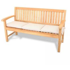 ROG-Gardenline Bankauflage, 3-Sitzer 150 x 45 CM - Natur Creme