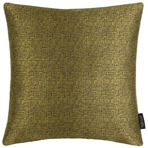 Rohleder Home Collection Kissen, Gelb, Polyester 40 x 40 cm