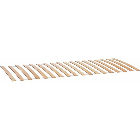 Roll-Lattenrost »STAPELLIEGE«, 100x200x10 cm (BxLxH), Müller SMALL LIVING, Material Birkenschichtholz